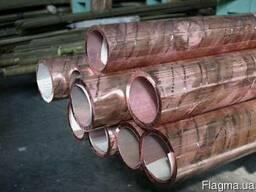 Труба М1м,М2тв Медная труба 8-80 мм