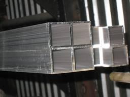 Труба металлическая прямоугольная