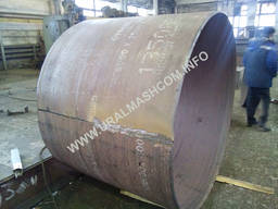 Тонкостенная бетонная труба-оболочка, ТС 180.20-1 (з мет. обечайкой)