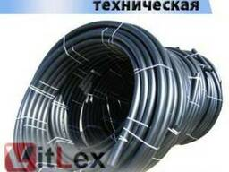 Труба ПЭ 225 техническая SDR 17, 6. Труба пластиковая d 225 м