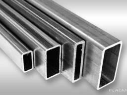 Алюминиевая труба прямоугольная 80x20x2анод 15 мкм