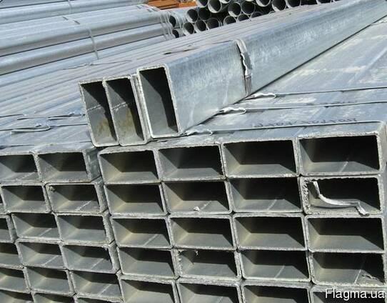 Труба профильная алюминиевая марка 6060 Т6 ( АД31Т )