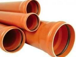 Труба канализационная ПВХ д 315 мм. Труба ПВХ 315 наружная.
