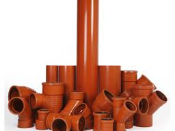 Труба ПВХ напорная раструбная ф-160х6000х6, 2