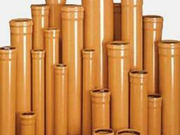 Труба ПВХ наружной канализации 110,160,200