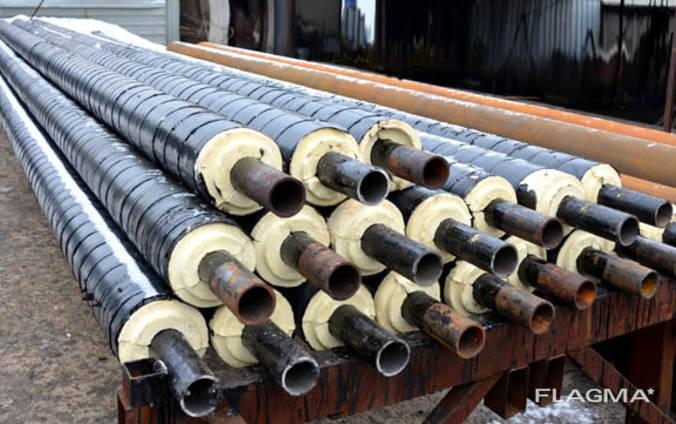 Труба стальная в оцинкованной (Spiro) оболочке 57/125 мм