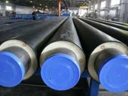 Труба сталева в ПЕ оболонці 630/800