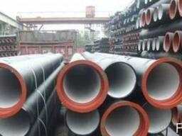 Трубы чугунные канализационные 100(RJ) L = 6 м