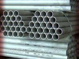 Труба водогазопроводная Ду 32х3, 2 мм оцинкованная