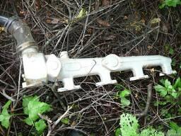 Труба водяная верхняя дизеля ЯАЗ-204.