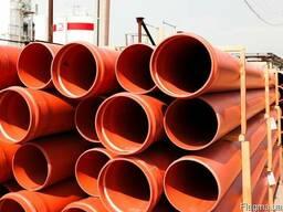Труби ПВХ для зовнішньої каналізації 110-630 мм (SN4, SN8)