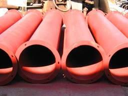 Труби самопливні , короба , засувки - виробництво