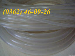 Трубка силиконовая прозрачная пищевая