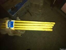 Трубки латунные оребренные (ГДР) Ф16Х2мм, L-2100мм, 16