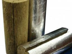 Трубная базальтовая скорлупа фольгированная