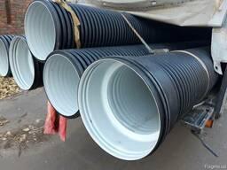 Трубы канализационные гофрированные диаметром 600 мм