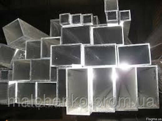 Трубы алюминиевые профильные (квадратные, прямоугольные)