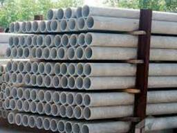 Трубы асбестоцементные безнапорные d 100 мм (длина 3950 cм)