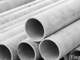 Трубы асбестоцементные безнапорные d 100 мм, вес 24,10 кг