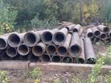 Трубы асбестовые б/у, диам 400 мм, длина 4 метра - фото 2