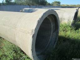 Трубы бетонные,железобетонные,асбестоцементные б/у
