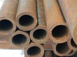 Трубы диаметр 73 мм. , внутр. диаметр 57 мм. , толщ. стенки 8 мм. , длинна 2,2 м.