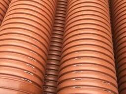 Трубы дренажные гофрированные 110, 160, 200, 315, 400 мм