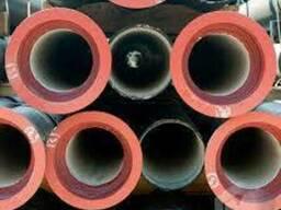 Трубы из высокопрочного чугуна с шаровидной графитной решет