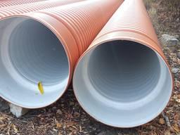Трубы пластиковые канализационные гофрированные диаметр 1200