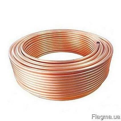 Трубы медные для систем водопровода бухта 50м 6х1