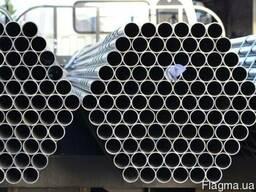 Трубы нержавеющие зеркальные Марка AISI 304 Размер 48,3х1,5