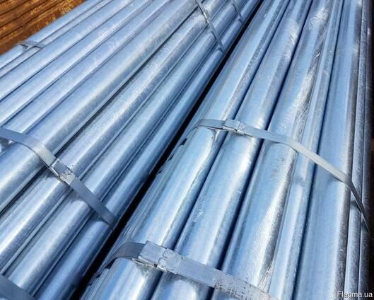 Трубы оцинкованные водогазопроводные (ГОСТ 3262-75,10704-91)