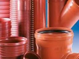 Трубы пластиковые канализационные 110, 160, 200, 300, 315