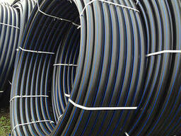Трубы полиэтиленовые технические от 16 до 630 мм.