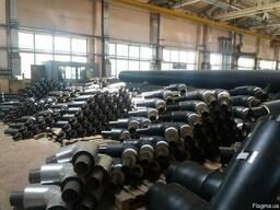 Отвод стальной теплоизолированный 133/225