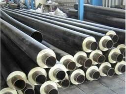 Трубы теплоизолированные в ПЕ, СПИРО в полном ассортименте