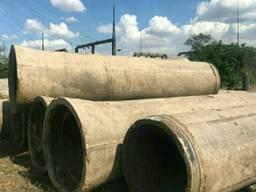 Трубы ф 800 мм. ж/б бетонные жб железобетонные б/у. В наличи