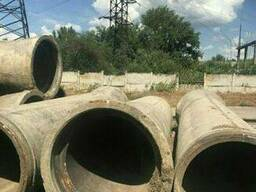 Трубы ж/б бетонные жб железобетонные б/у, ф 1000 мм.