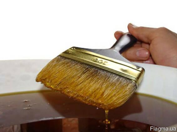 Льняное масло для дерева (олифа)