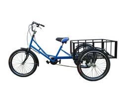 """Трёхколёсный грузовой велосипед для взрослых """"Греция"""""""