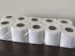 Туалетная бумага эконом двухслойная 10шт упаковка NEW
