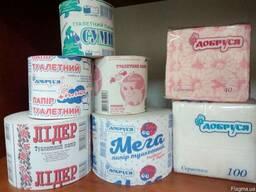 Туалетная бумага, салфетка