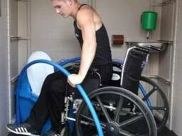 Туалетные кабины для инвалидов.Туалетні кабіни для інвалідів