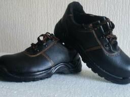 Рабочая обувь, мужские ботинки, юфтевые, кожанные