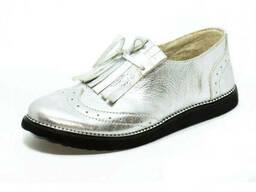 Туфли с бахромой 7921