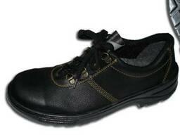 Туфли юфть литьевое крепление подошвы