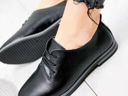 Туфли женские Moran черные 1870 кожа