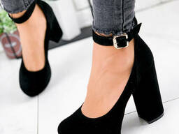 Туфли женские My-shoes черные 1902