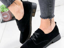 Туфли женские Vieno черные 1806