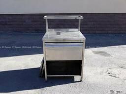 Тумба с ящиком Б/у из нержавеки для кухни кафе, 4500грн